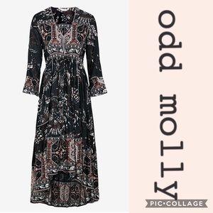 Odd Molly High Low Hummingbird Dress